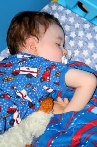 Shhh... he's sleeping