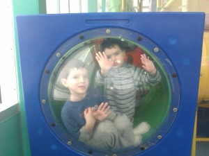 Boys in a bubble