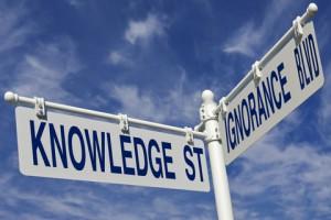 knowledge + ignorance