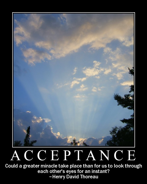 Accepting Everything
